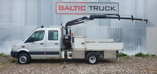 бортовой грузовик MERCEDES-BENZ Sprinter 4x4 + HIAB CRANE