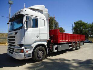 бортовой грузовик SCANIA R 730