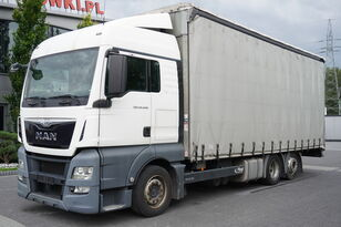 грузовик штора MAN TGX 26.440 XLX , E6 , 6X2 , MEGA , 19 EPAL , RSAS system