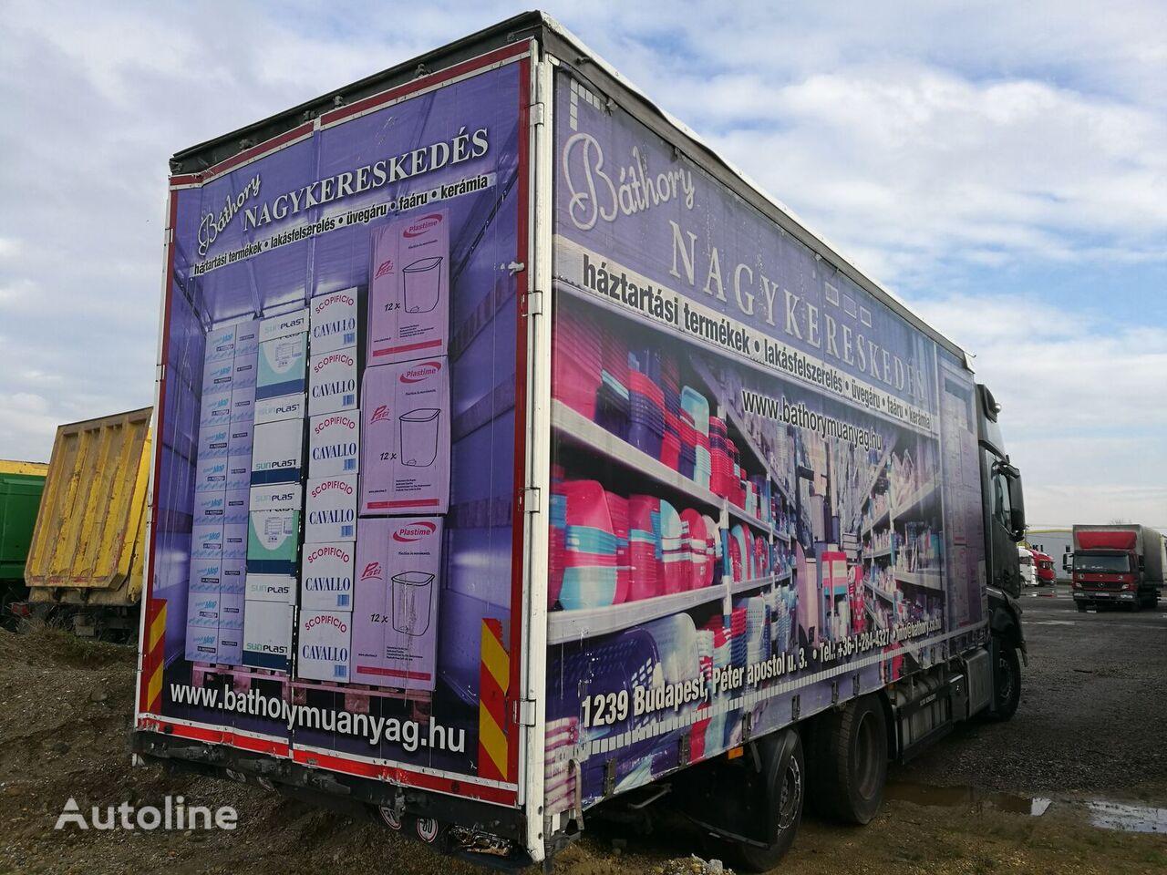 грузовик штора SCHWARZMÜLLER LBA ROLÓPONYVÁS FELÉPÍTMÉNY