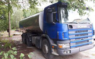 молоковоз SCANIA 124 milk tank+ pump