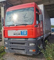 тентованный грузовик MAN 26.410 FNLC + прицеп тентованный