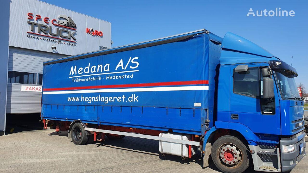 тентованный грузовик IVECO Eurotech 190E35,7 meter , with elevator-M