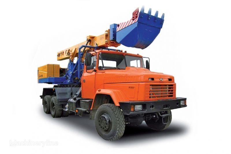 новый экскаватор-планировщик КРАЗ 6322 EW-25-M1 Экскаватор-планировщик